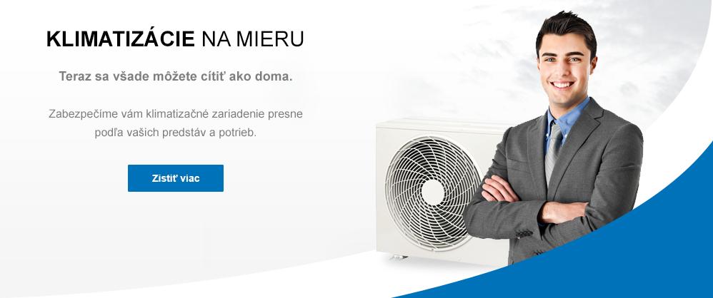 Klimatizácie - projektovanie, montáž, servis.